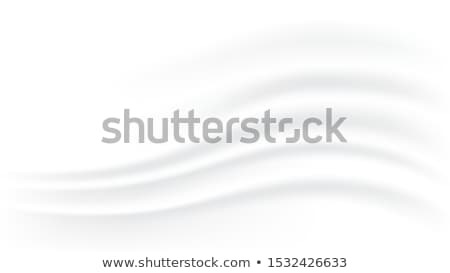 White pearl wavy silk vector abstract background Stock photo © saicle