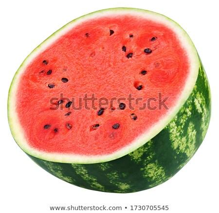 Vruchten plakje meloen gemak significant element Stockfoto © tatiana3337