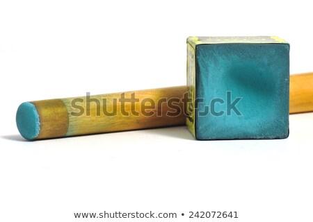 Snooker kréta illusztráció fa háttér művészet Stock fotó © bluering
