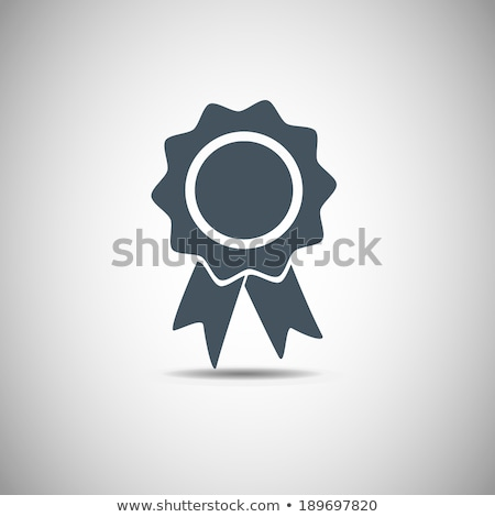 Icons with ribbons Stock photo © bluering
