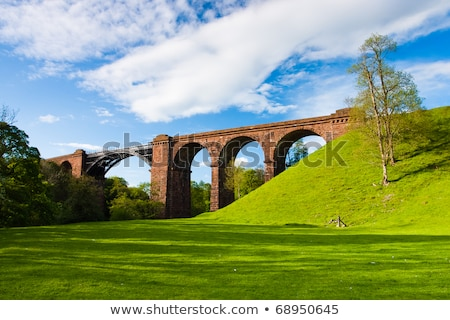 Lune viaduct  in Yorkshire Dales National Park, Great Britain Stock photo © CaptureLight