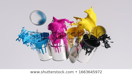 Background design in four colors Stock photo © bluering