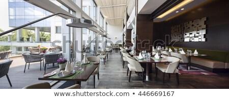 Restaurant in modern style Stock photo © bezikus