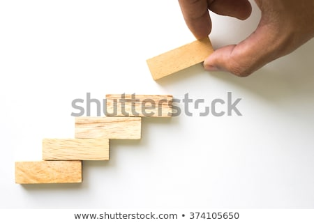 passo · crescimento · negócio · escada · subir · conceito - foto stock © ivelin