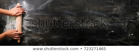 Gasztronómiai háttér űr asztal hús tábla Stock fotó © yelenayemchuk