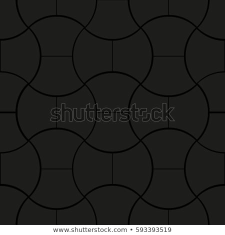 gray paving slabs with scuffed in the streamlined form stock photo © tashatuvango