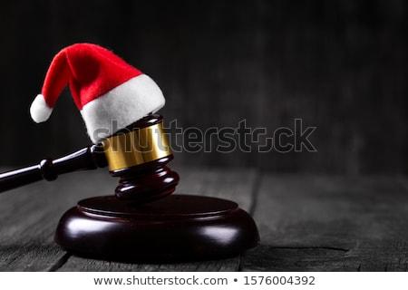 Stock photo: Christmas Law