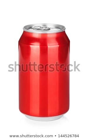 красный белый продовольствие пить контейнера Сток-фото © devon