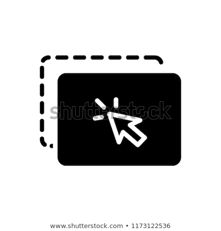 Drag and Drop Vector Icon Stock photo © smoki