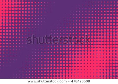 Pop art halftone retro background shapes with cartoon style stock photo © SwillSkill