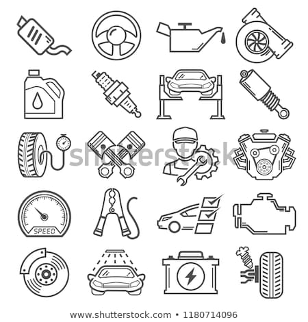 Vector Car Suspension Parts Stock photo © dashadima