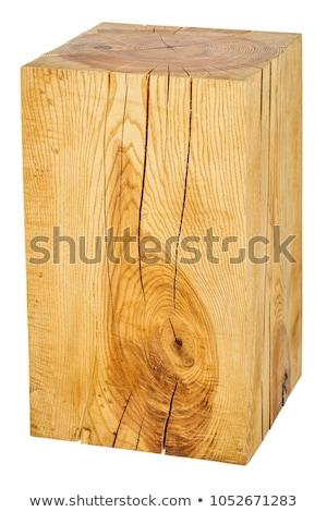 Screpolato legno albero sezione Foto d'archivio © dash