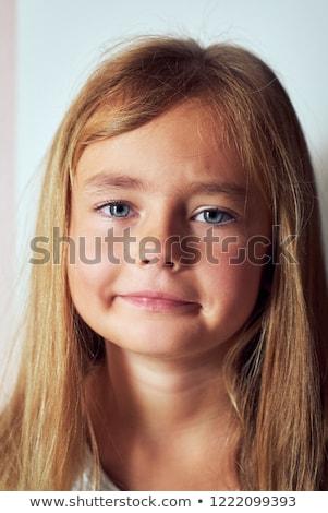 Portrait adorable six sept ans vieux Photo stock © amok