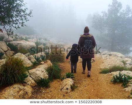 joyful family enjoying great autumnal weather stock photo © konradbak