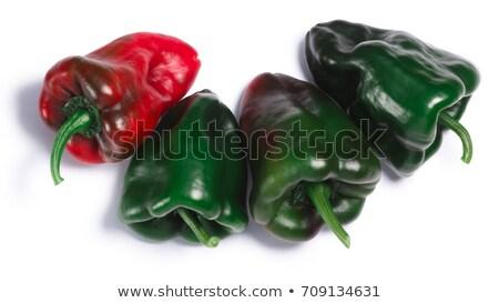 Ancho Grande chile, ripening, paths Stock photo © maxsol7