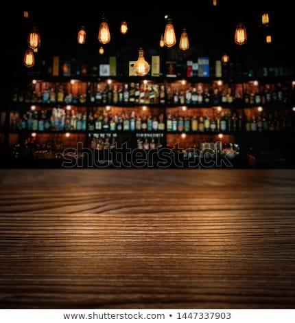 Laden Veröffentlichung Bier bar trinken Alkohol Stock foto © jossdiim