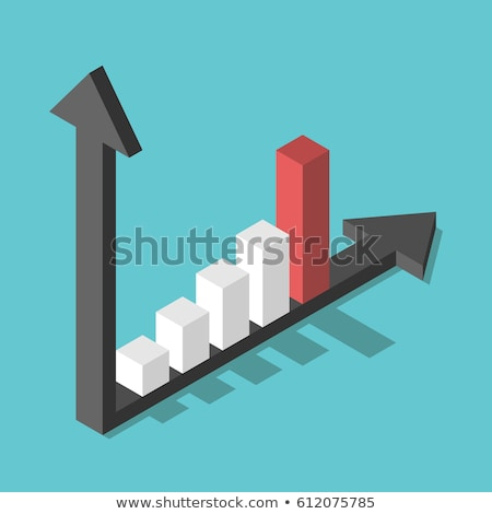 column graph isometric object stock photo © anna_leni