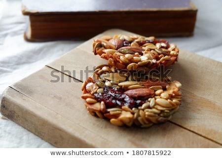 Meyve kurabiye kuru üzüm gıda pişirme havuç Stok fotoğraf © fanfo
