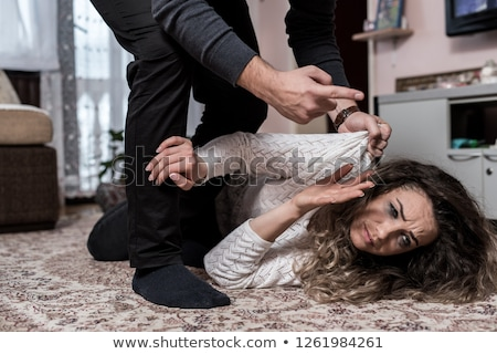 father abused his young boy at home Stock photo © Lopolo