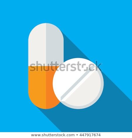 gezondheidszorg · medische · vector · iconen · bloed · glas - stockfoto © pikepicture