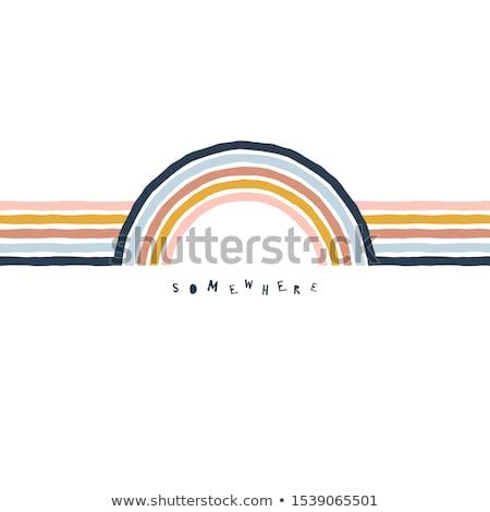 Citaat kleur slaap cute Stockfoto © barsrsind