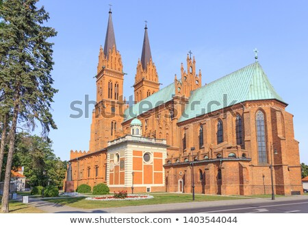 Basiliek kathedraal onderstelling hemel stad ijs Stockfoto © benkrut