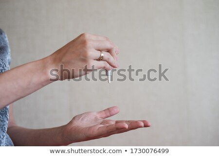 Objects for Coronavirus or Covid 19 protection. Hand means for disinfection squeeze Stock photo © Illia