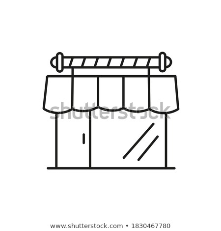 Brush Accessory Icon Vector Outline Illustration Stock photo © pikepicture