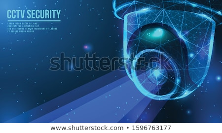 Foto stock: Indoor Security System Abstract Concept Vector Illustration