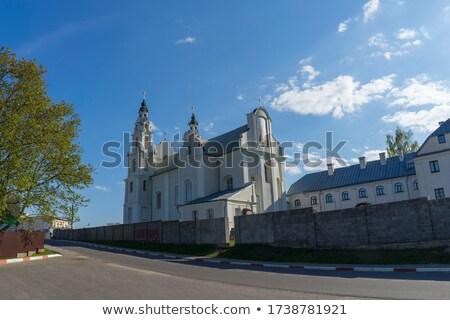 Церкви Беларусь римской католический города архитектура Сток-фото © borisb17