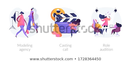 Casting call abstract concept vector illustration. Stock photo © RAStudio