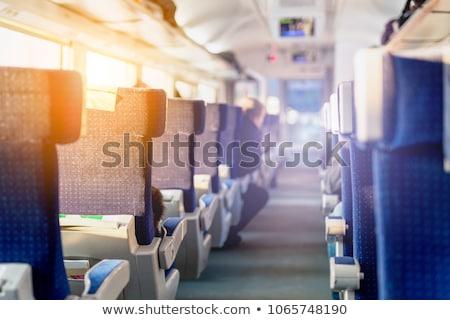 列車 ワゴン 廊下 インテリア デザイン ストックフォト © simply
