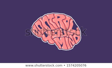 letters brain stock photo © jordygraph