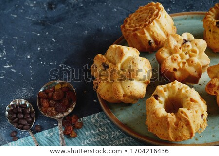 Assorted tea cakes with a lot of copyspace Stock photo © aladin66