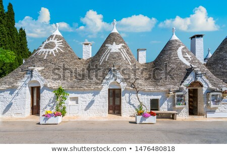Trulli houses in Alberobello Stock photo © aladin66