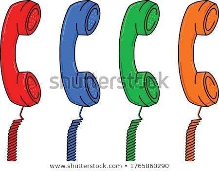 telephone handle stock photo © leeser