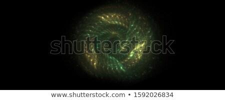 ilustração · fractal · azul · linhas · internet - foto stock © arenacreative