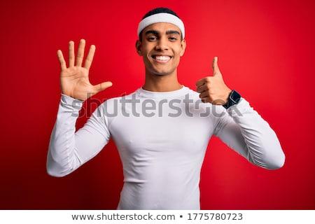 Dita mano bianco Palm dito strano Foto d'archivio © Stocksnapper