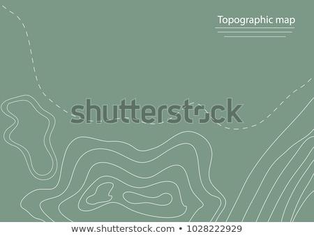 körvonal · vonalak · vektor · térkép · háttér · föld - stock fotó © lkeskinen