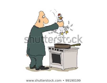 Choking the chicken Stock photo © sumners