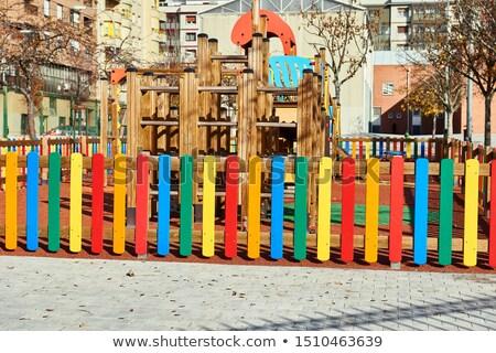 playground fence stock photo © deyangeorgiev