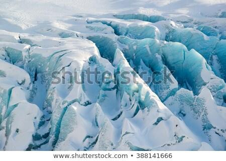 青 · 氷 · 洞窟 · 終了する · 研究 · ビジネス - ストックフォト © timwege