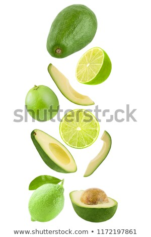 Fresh ripe avocado Stock photo © Masha