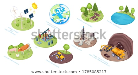 Stock photo: Iron Ore Mine Factory Plant