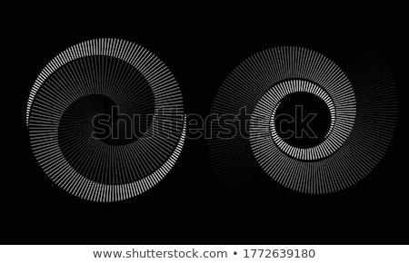spiraal · stralen · abstract · Blauw · donkere · droom - stockfoto © marinini