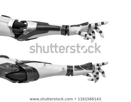 Robot Hand Reaching Forward Stock photo © AlienCat