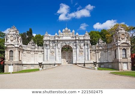 Dolmabahce Palace Entrance, Istanbul,Turkey  Stock photo © Bertl123