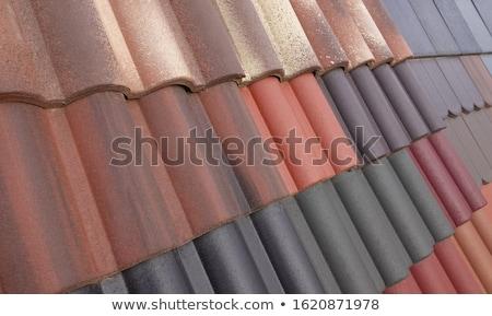 clay shingles stock photo © chrisbradshaw