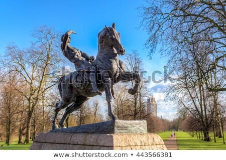 родившийся известный художника скульптор движения статуя Сток-фото © Snapshot