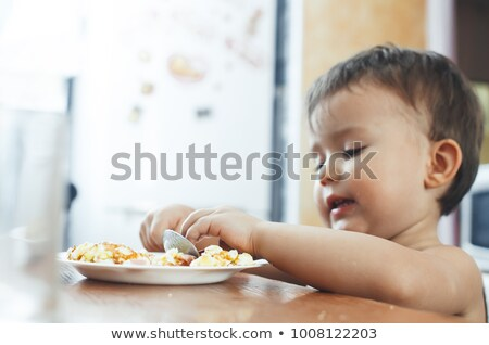 baby · ei · vector · gelukkig · vogel · kip - stockfoto © Editorial